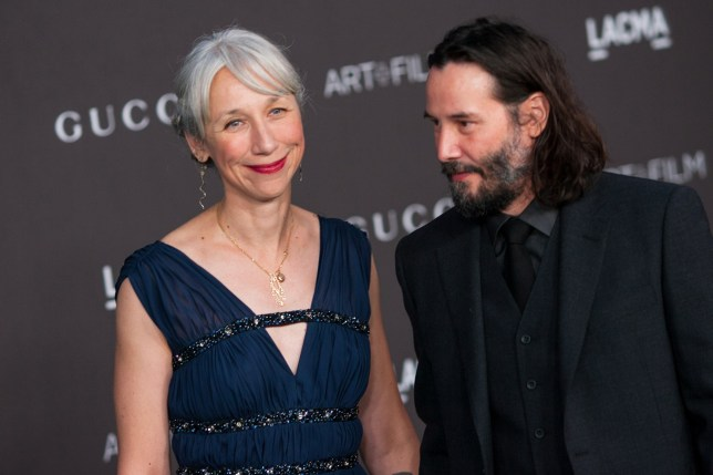Keanu Reeves 'saved' by Alexandra Grant as artist helped him 'open up' after death of ex-girlfriend