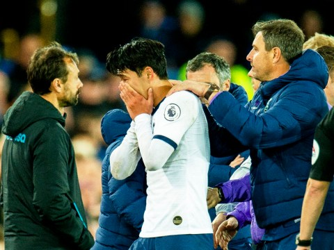 Tottenham forward Heung-min Son has red card for tackle on Andre Gomes overturned