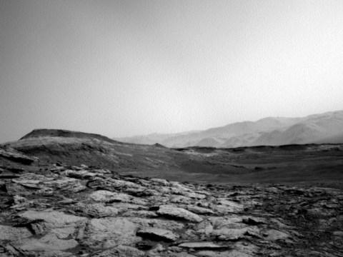Nasa's Curiosity rover beams back hauntingly beautiful images of Mars