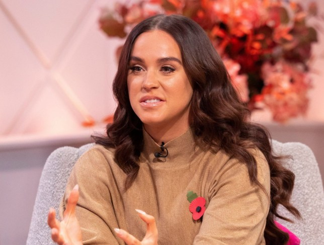 Editorial use only Mandatory Credit: Photo by Ken McKay/ITV/REX (10465809aq) Vicky Pattison 'Lorraine' TV show, London, UK - 05 Nov 2019 VICKY PATTISON: MY FERTILITY FEARS AND FEELING BODY CONFIDENT IN MY 30S She?s a former Queen of the Jungle, who?s currently starring in her own reality series - during which she revealed she?s considering freezing her eggs. Vicky Pattison joins Lorraine to tell her why she fears her ?wild? past may have caught up with her - how she?s found love again, and why she?s finally feeling body confident in her 30s.