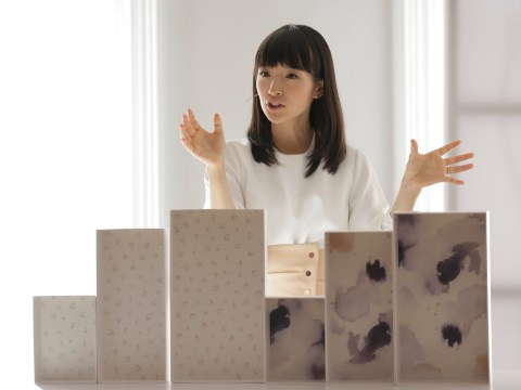 After helping you get rid of stuff, Marie Kondo now wants to sell you her homeware collection