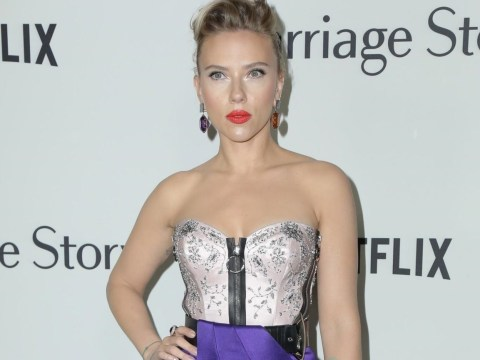 Scarlett Johansson slays at Marriage Story premiere after lifting lid on Colin Jost proposal