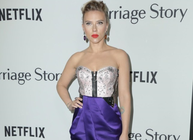 Scarlett Johansson Marriage Story premiere