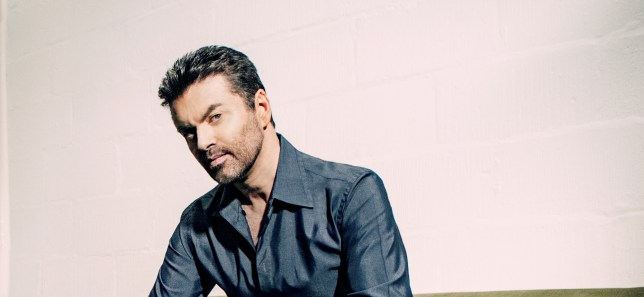 George Michael photographed in London, Britain, 2003.