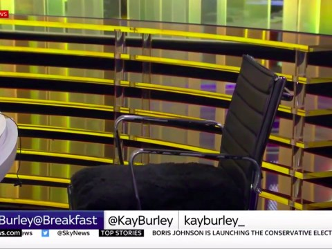 Kay Burley interviews empty chair after Tory chairman fails to turn up for interview