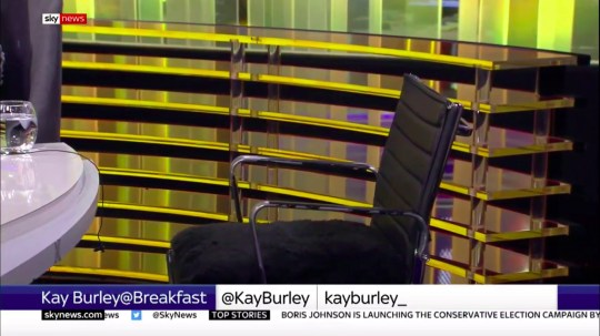 Kay Burley's anger after James Cleverley refused to be interviewed on Sky News