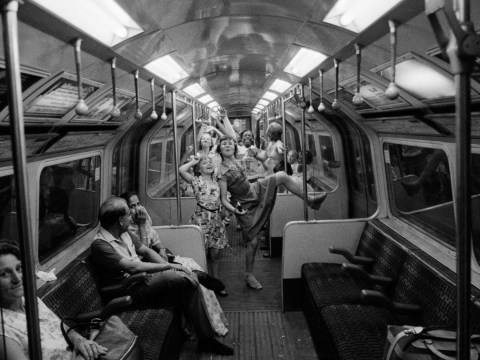Photos capture the London Underground in the 1970s