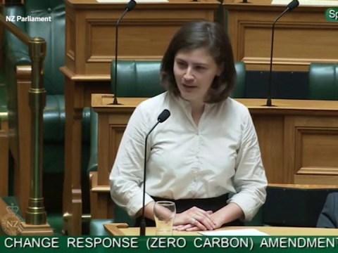 Millennial MP tells colleague 'OK Boomer' during climate change speech