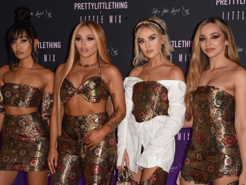 Little Mix have got the power as they launch PrettyLittleThing collection with Love Island star Molly-May Hague