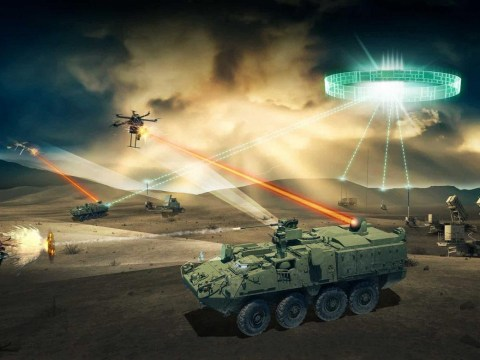 US Army plans to use Star Wars-style lasers to take down enemy drones
