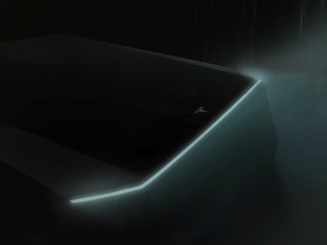 Tesla will unveil its ?Cybertruck? electric pickup on November 21st 62 Elon Musk has called the supposedly Blade Runner design ?heart-stopping?
