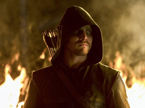 Arrow star Stephen Amell confirms he's worn his superhero suit for the last time on set