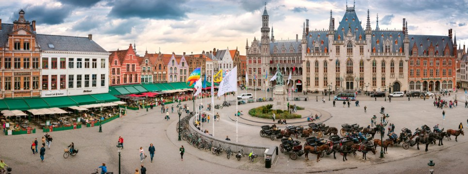 The panoramic shot of Bruges which includes a secret code which will win someone a trip on the new luxury cruise ship Celebrity Apex. See SWNS story SWBRxpuzzle. Travel enthusiasts are fighting for the chance to be one of the first aboard a new luxury cruise ship - by finding microscopic codes hidden in five incredibly detailed ???gigapixel??? photographs. Eagle-eyed travellers must locate codes hidden within photos of five iconic European cities including Amsterdam, Berlin and Bruges. The high definition gigapixel images are made up of 500 individually taken photos, meaning the cityscapes can be explored by zooming in with incredible precision. Concealed in each of the images is Celebrity Cruises??? X-shaped logo containing a unique code.