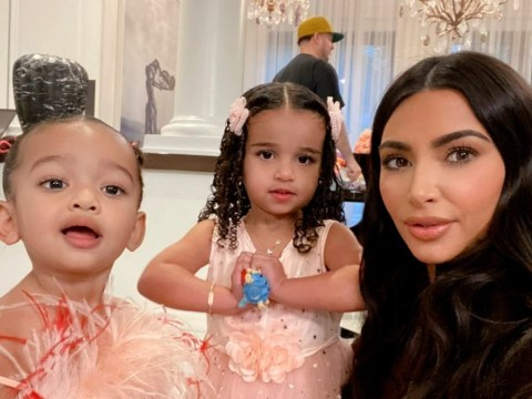 Kim Kardashian is aunt goals as she celebrates Dream's birthday with family party