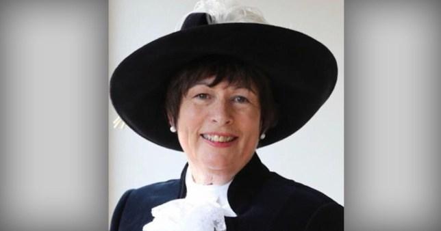 Annie Hall, former High Sheriff of Derbyshire