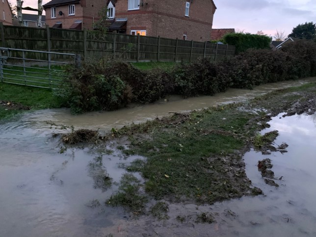 A schoolboy has told of his shock after he and his friend were sucked through a pipe while walking home from school. Euan Bottomley was walking back to his house in Holdingham from Carres Grammar School near the Jolly Scotchman pub with friend Luke Davies on Thursday evening, November 7 when he slipped into some water. Heavy rain had caused the track to become flooded hiding the water is usually there as well as a large pipe. But, before the 12-year-old could even think, he was sucked under the water and into the pipe before being chucked out at the other side.