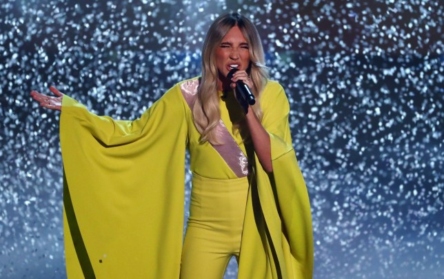 Editorial Use Only. No Book Publishing. Mandatory Credit: Photo by Dymond/Thames/Syco/REX (10469656dt) Megan McKenna 'The X Factor: Celebrity' TV show, Series 1, Episode 5, London, UK - 09 Nov 2019