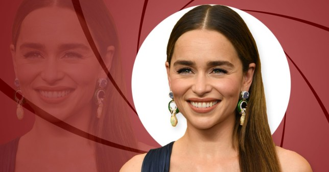 Emilia Clarke wants to be James Bond