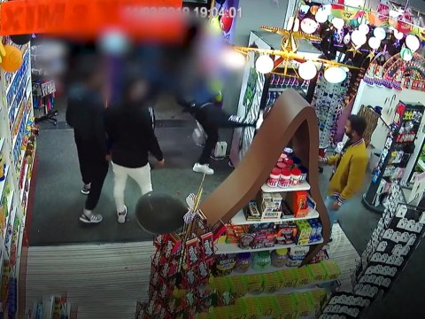 Shopkeepers powerless to stop gang of thieves raiding their store