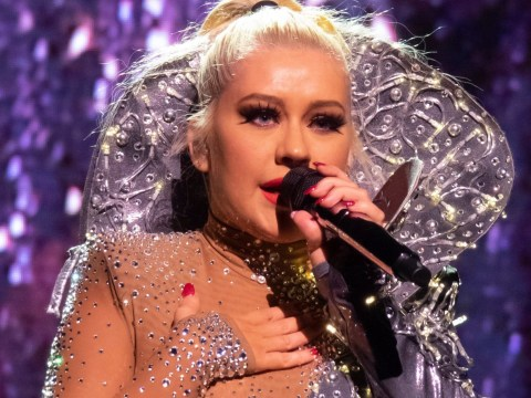 Christina Aguilera proves you can't hold her down as she returns with X Tour