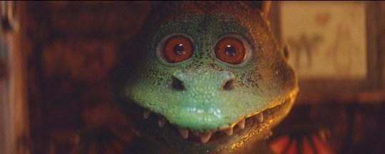 Edgar the dragon from the John Lewis Christmas advert 2019