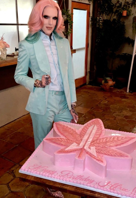 Jeffree Star celebrates his 34th birthday