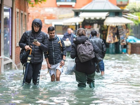 Venice suffers 5ft tide after worst week of flooding since records began