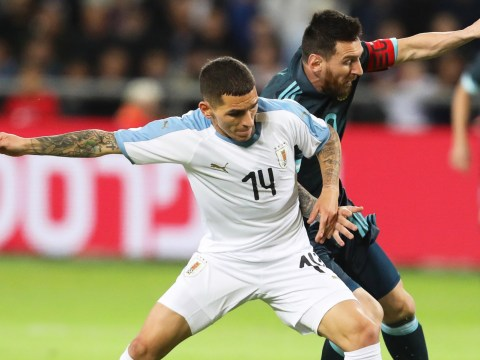 Lucas Torreira proves Arsenal manager Unai Emery wrong with superb defensive midfield display for Uruguay