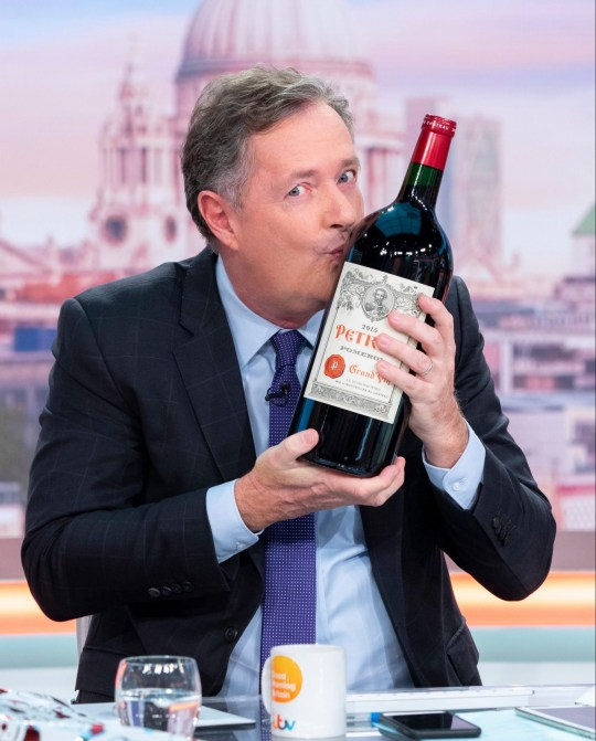 Piers kissed the wine