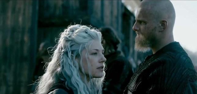 a still from the Vikings season 6 teaser