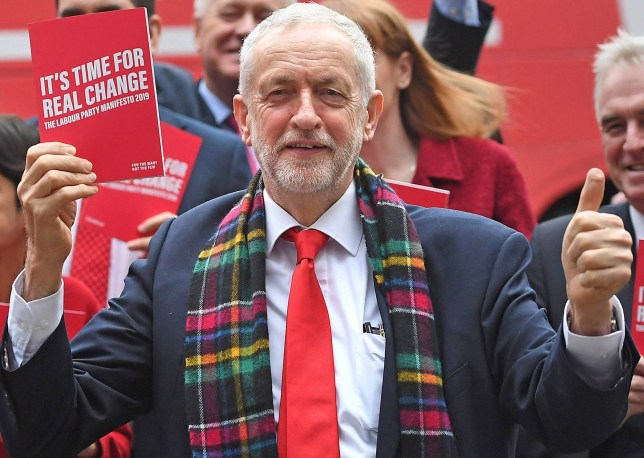 PABest Labour Party leader Jeremy Corbyn arrives for the launch of his party's manifesto in Birmingham. PA Photo. Picture date: Thursday November 21, 2019. See PA story POLITICS Election. Photo credit should read: Joe Giddens/PA Wire