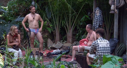 Andrew Maxwell on Im A Celeb