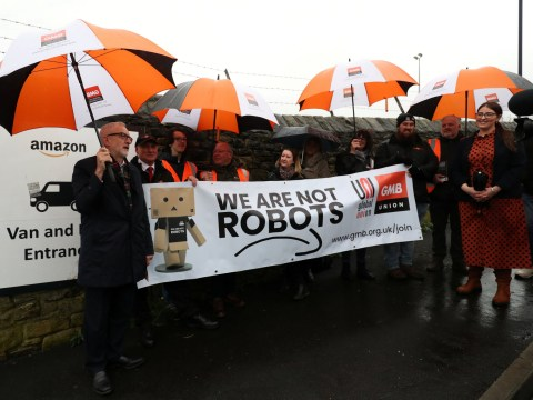 Amazon hit by Black Friday strikes and protests across Europe