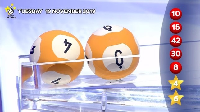 UK ticket-holder claims ?105m euromillions (Picture: The National Lottery)