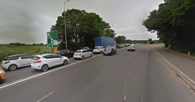 Two men dead after car crashes into pedestrians in Norfolk (Picture: Google)