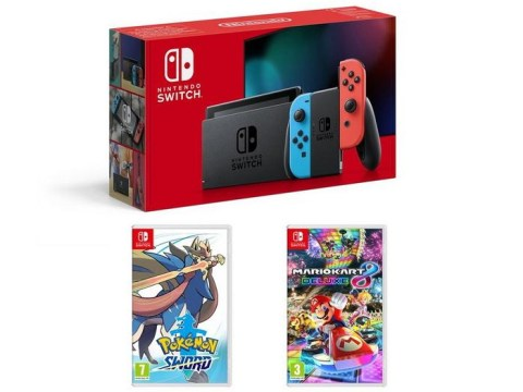 Top Nintendo Switch Black Friday console deal includes Pokémon and Mario Kart for £60 off