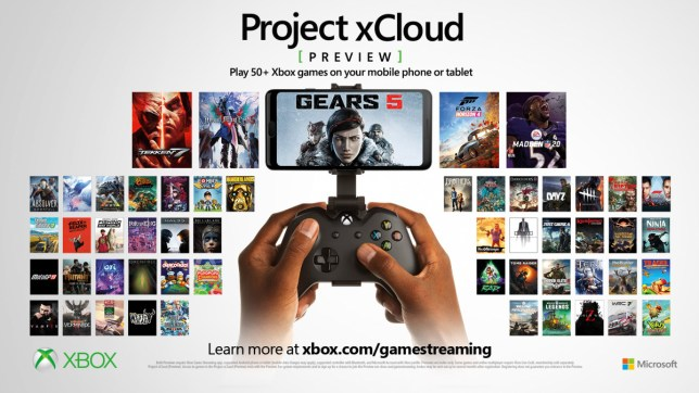 Project xCloud streaming service adds all Xbox Game Pass games