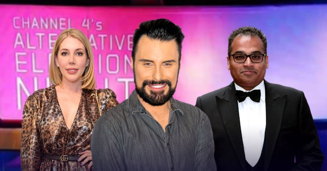 Rylan joins Channel 4 election coverage