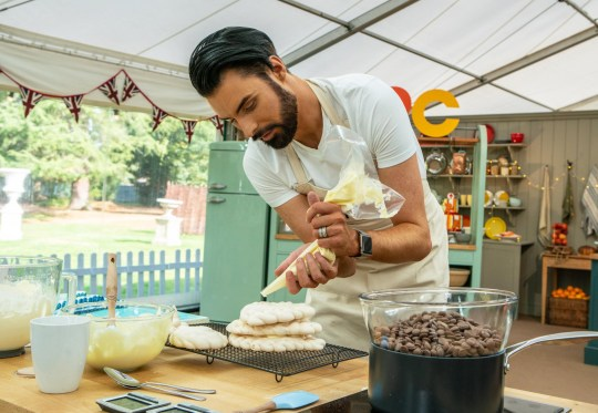 Rylan Clark-Neal on The Great Celebrity Bake Off