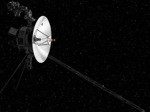 Nasa Voyager 2 beams back first data from interstellar space