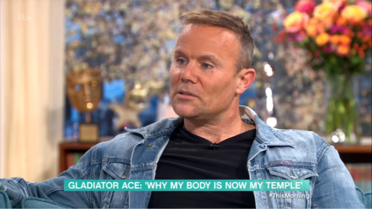 Former Gladiator Ace on This Morning