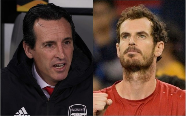 Andy Murray admits Unai Emery is on borrowed time at Arsenal