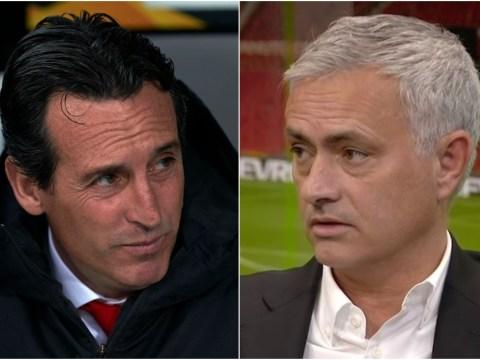 Jose Mourinho set to meet Arsenal boss Unai Emery at UEFA Elite Club Coaches Forum