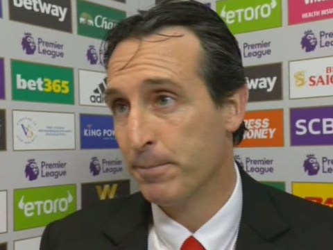 Unai Emery responds to having worse record than Arsene Wenger after Arsenal's defeat to Leicester City