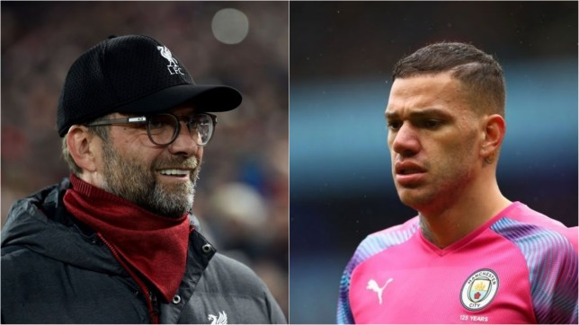 Jurgen Klopp has made an Ederson injury prediction ahead of Liverpool v Man City