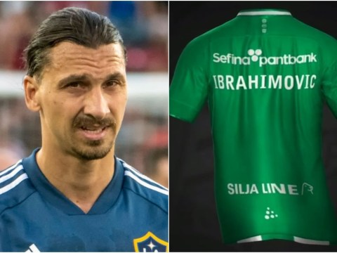 Zlatan Ibrahimovic appears to confirm Hammarby transfer