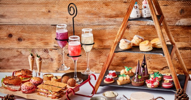 Festive afternoon tea at The Daffodil in Grasmere