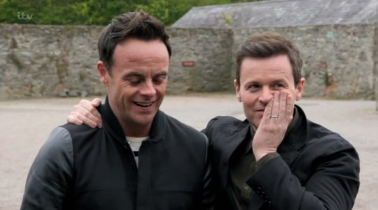 Ant and Dec on DNA Journey