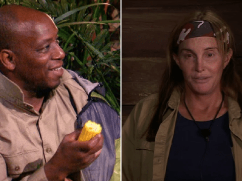 I'm a Celebrity: Caitlyn Jenner risks punishment by sneaking food to Ian Wright