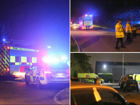 Dozens suffer breathing difficulties after 'chemical leak'
